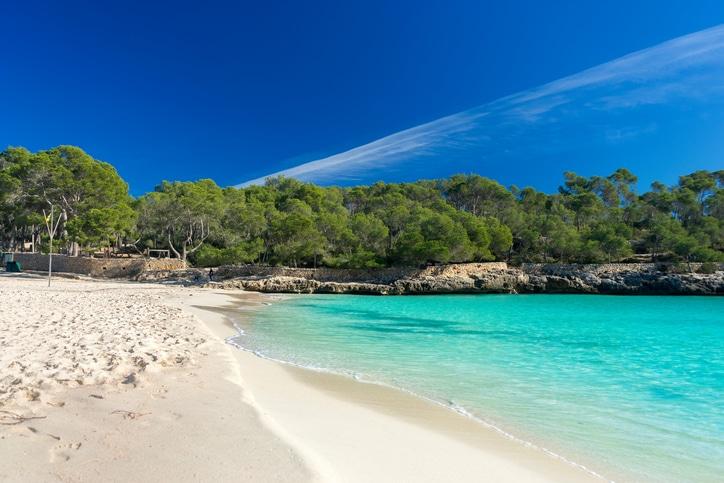 Cala Mondrago auf Mallorca