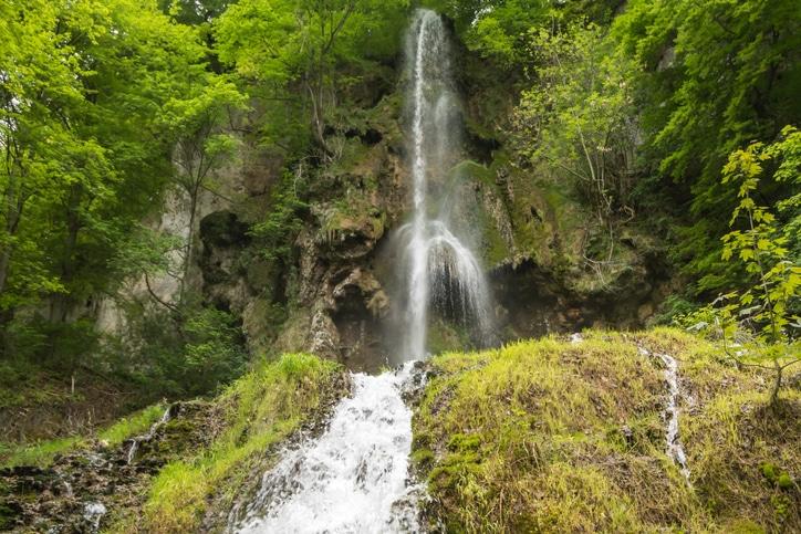 Uracher Wasserfälle, Bad Urach, Germany