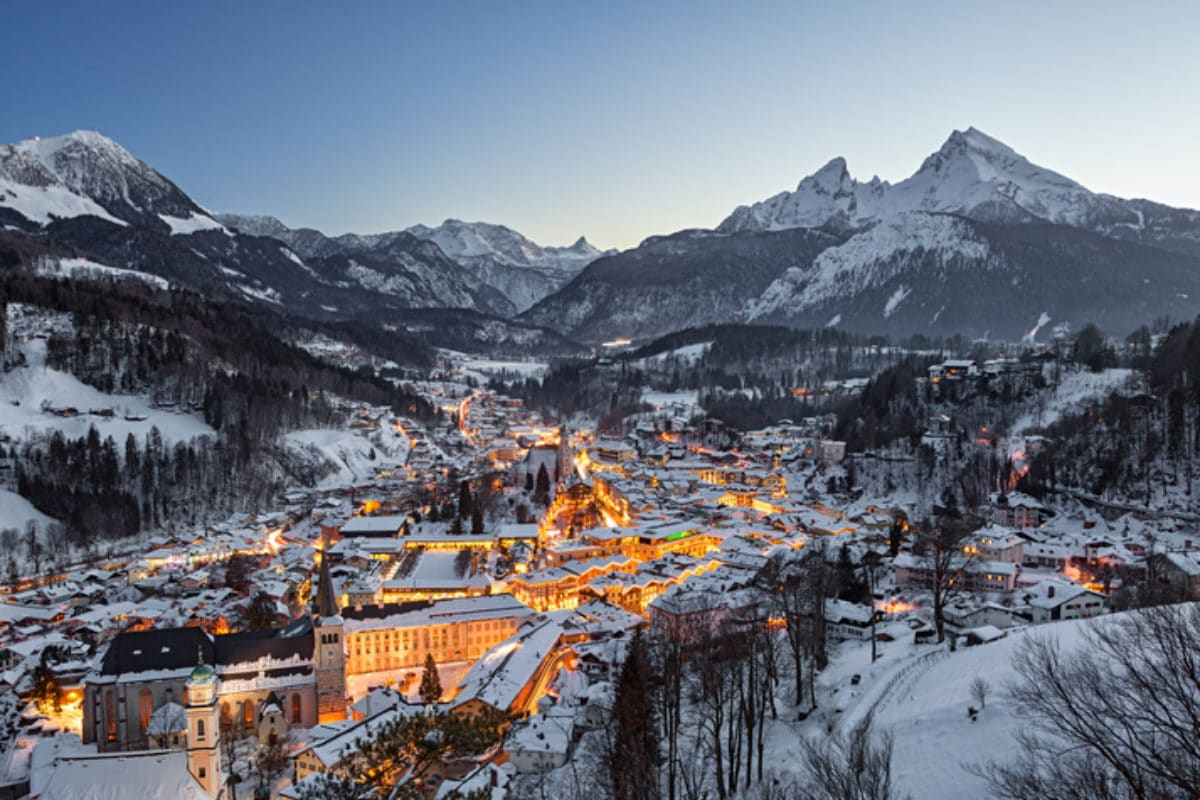 Berchtesgaden in Oberbayern
