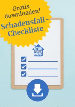 Schadensfall Checkliste