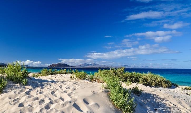 Corralejo Beach auf Fuerteventura