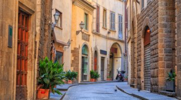 Ein Spaziergang durch Florenz
