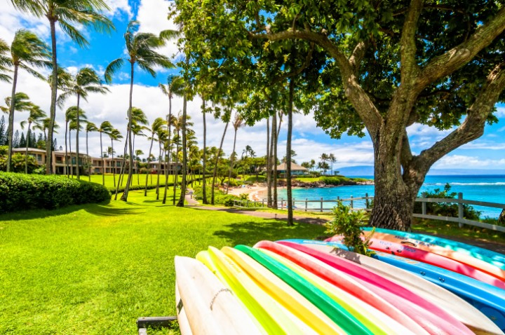 West Maui's famous Kaanapali area