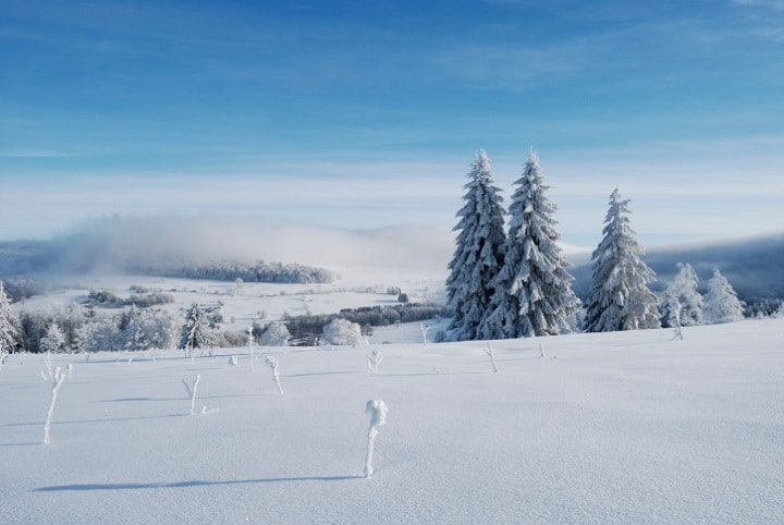 Die 950 Meter hohe Wasserkuppe ist der höchste Berg in der Rhön und Hessen.