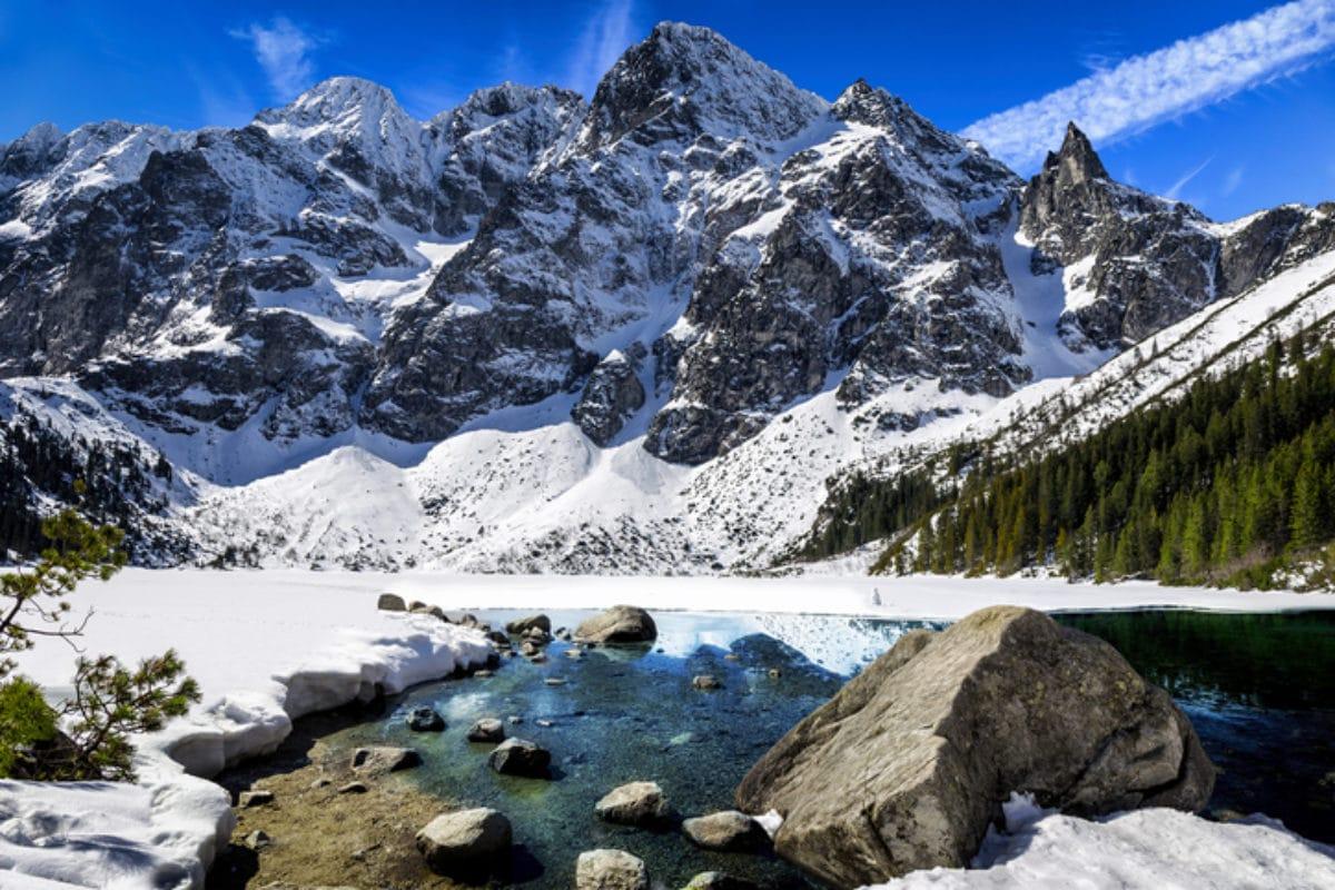 Hohe Tatra in Polen