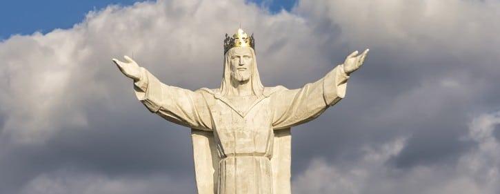 Größte Christus-Statue der Welt in Świebodzin.