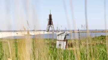 Entlang der Küste zwischen Bremerhaven und Cuxhaven