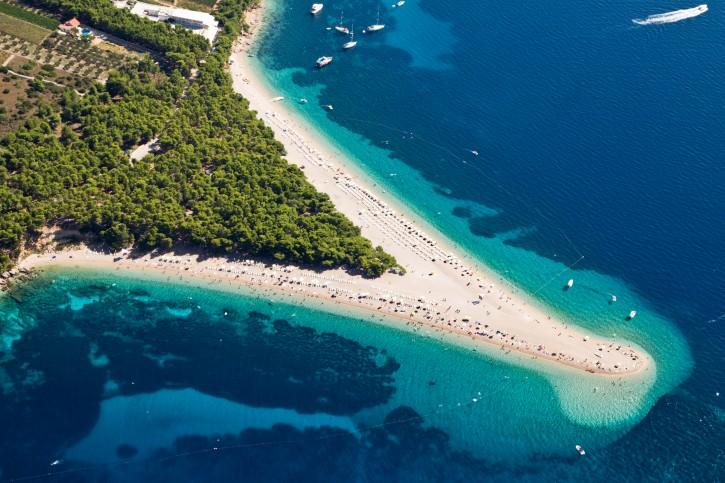 Strand Goldenes Horn auf der Insel Brac