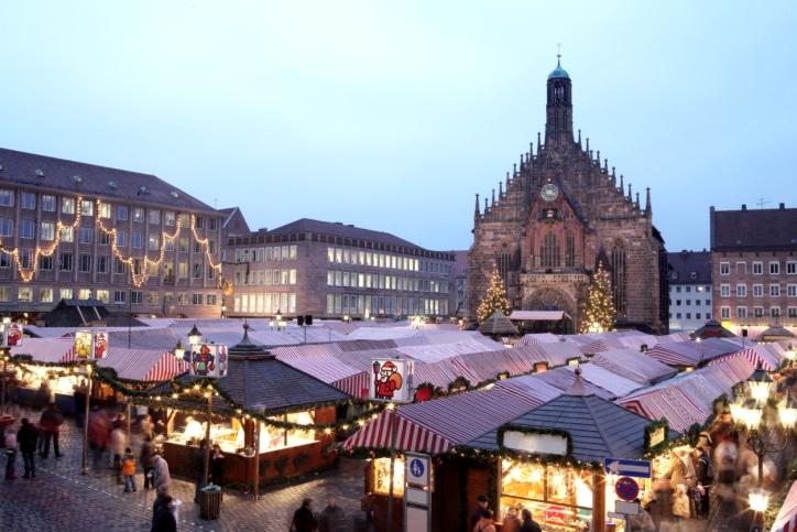 Der legendäre Christkindl-Weihnachtsmarkt im bayerischen Nürnberg begeistert seine Besucher seit mehr als 300 Jahren.