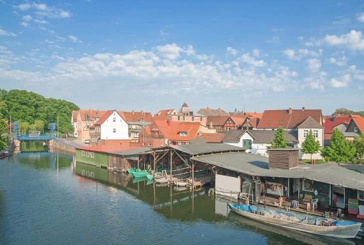 Plau am See Mecklenburg-Vorpommern, Deutschland
