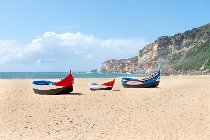 Praia de Nazare Portugal