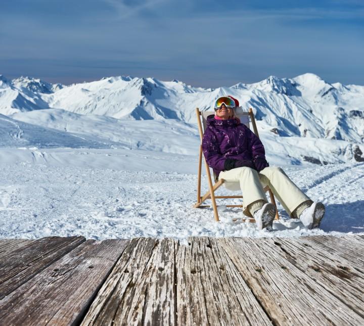 Die abwechslungsreichen Pisten rund um den Skiverbund Les Trois Vallees sind über Skischaukeln miteinander verbunden.