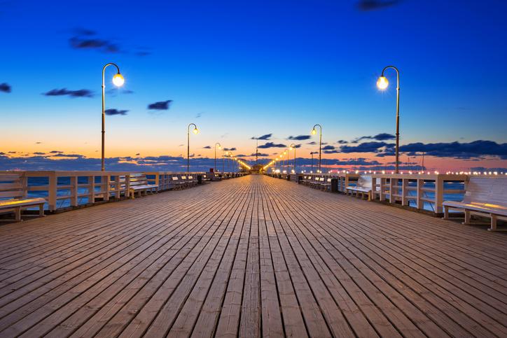 Seebrücke Sopot Ostsee