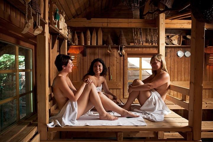 Sauna Aufguss