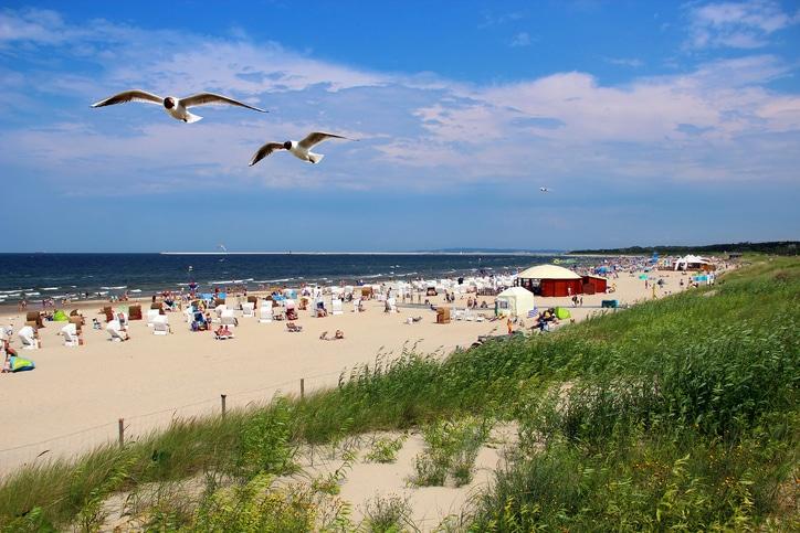 Ostseeinsel Usedom Strand