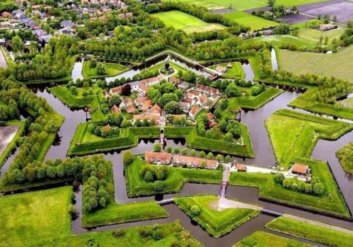 Festung Bourtagne Groningen Niederlande