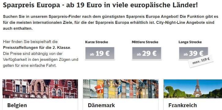 Europa Special Deutsche Bahn