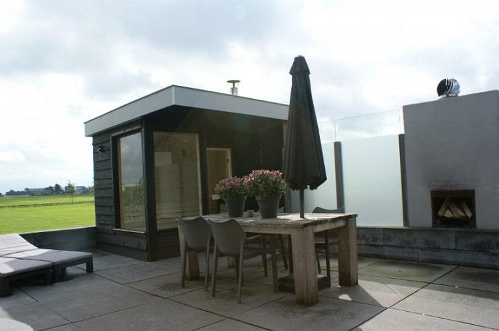 Ferienhaus mit Außensauna in Noordwijk
