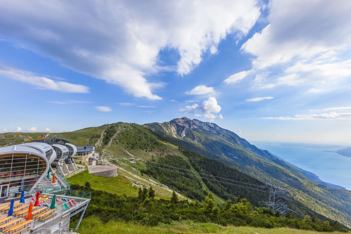 Monte Baldo Seilbahn, Gardasee, Italien