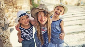 Die schönsten Reiseziele für Urlaub mit Kindern