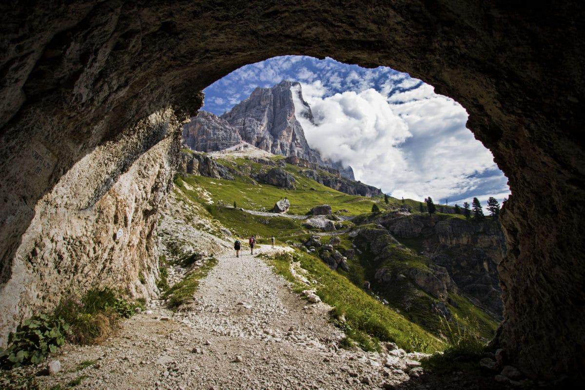 Tofana di Rozes, Dolomiten