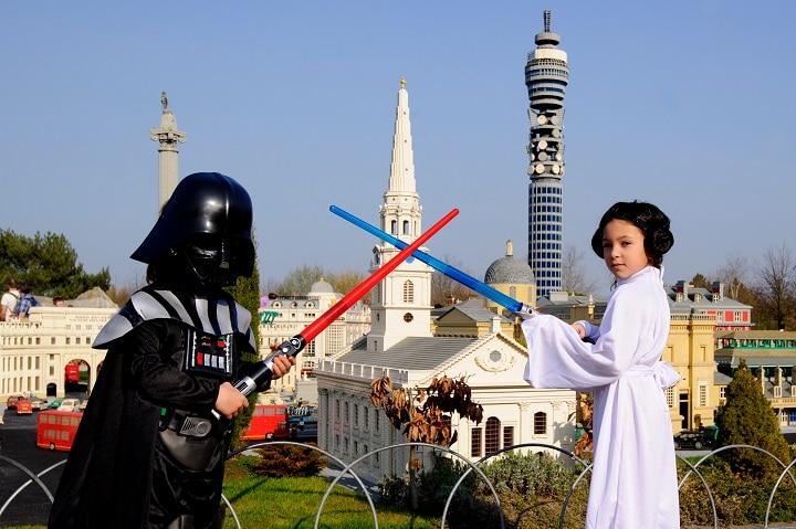 Die Star Wars Miniworld im Legoland Windsor steht nicht nur bei kleinen Jedirittern hoch im Kurs. (Foto: www.legoland.co/uk)