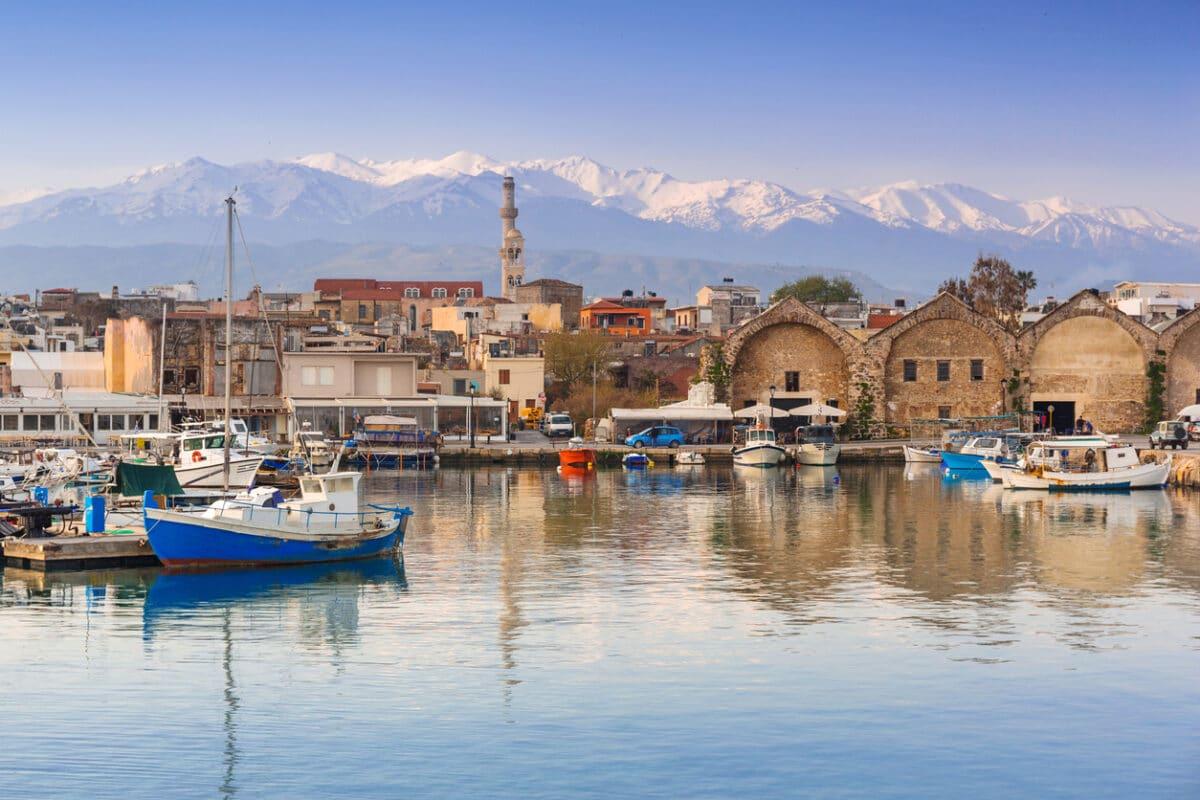 Fischerdorf auf Kreta
