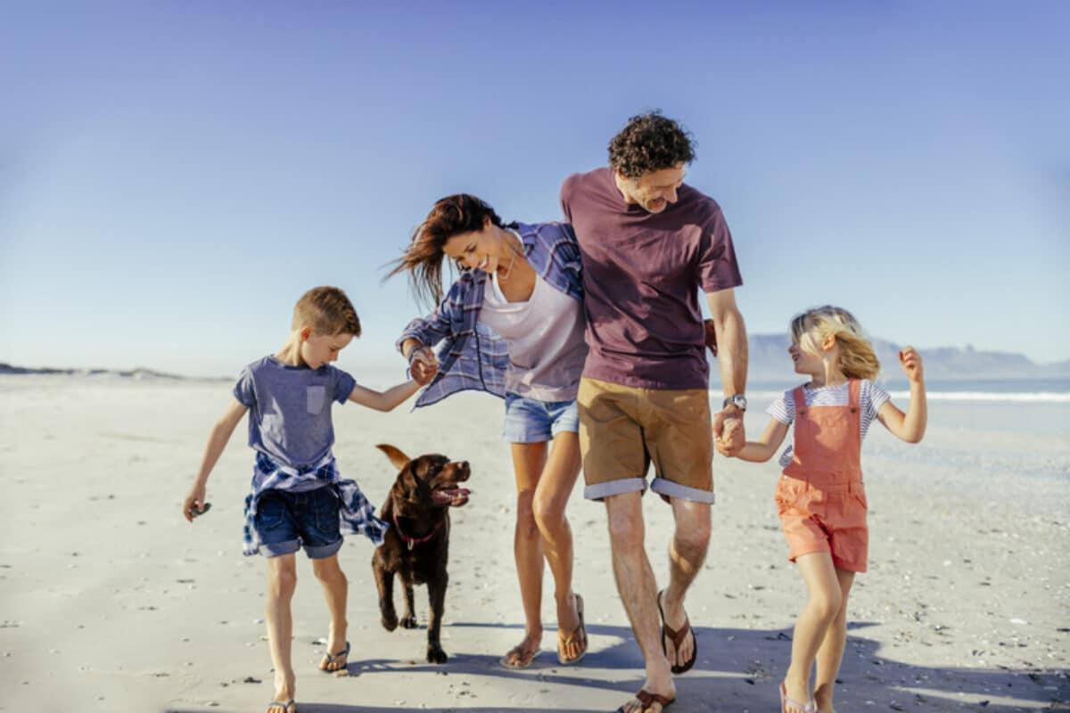 Urlaub mit Hund und der ganzen Familie