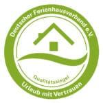 Qualitätssiegel des Deutschen Ferienhausverbandes